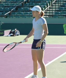 Justine Henin at the 2007 Sony Ericsson Open
