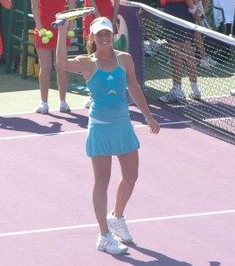 Michelle Larcher de Brito at the 2008 Sony Ericsson Open