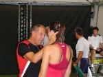 Nick Bollettieri speaks to Jelena Jankovic