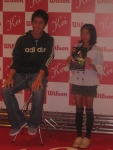 Kei at an appearance for Wilson