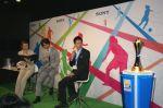 Kei Nishikori speaks at a Sony event in Tokyo