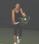 Jelena Jankovic at the Nick Bollettieri Tennis Academy