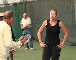 Nick and Jelena Dokic at the Academy