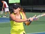 Michelle Larcher de Brito at the IMG Bollettieri Tennis Academy