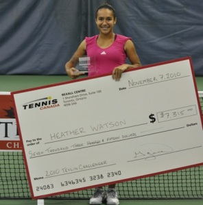 Heather Watson wins Tevlin Challenger!